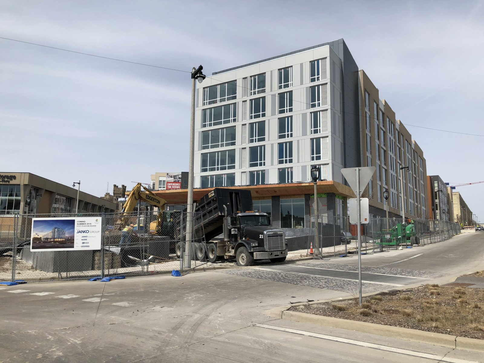Hyatt Place Construction