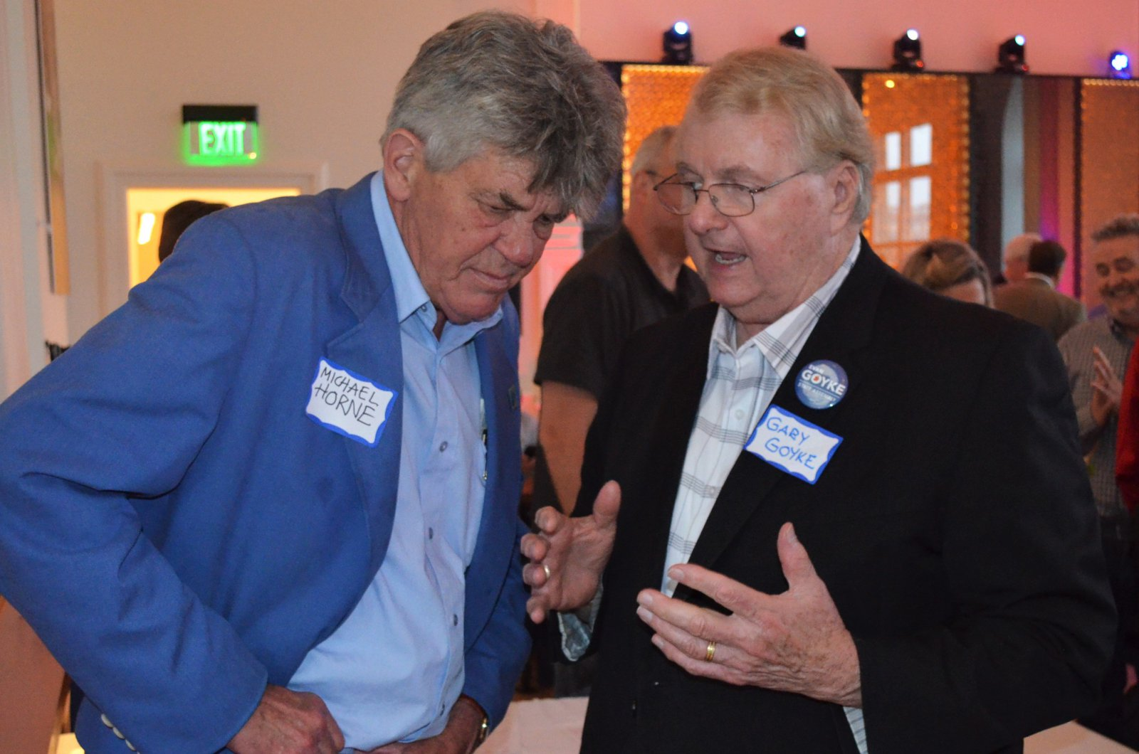 Michael Horne and Gary Goyke