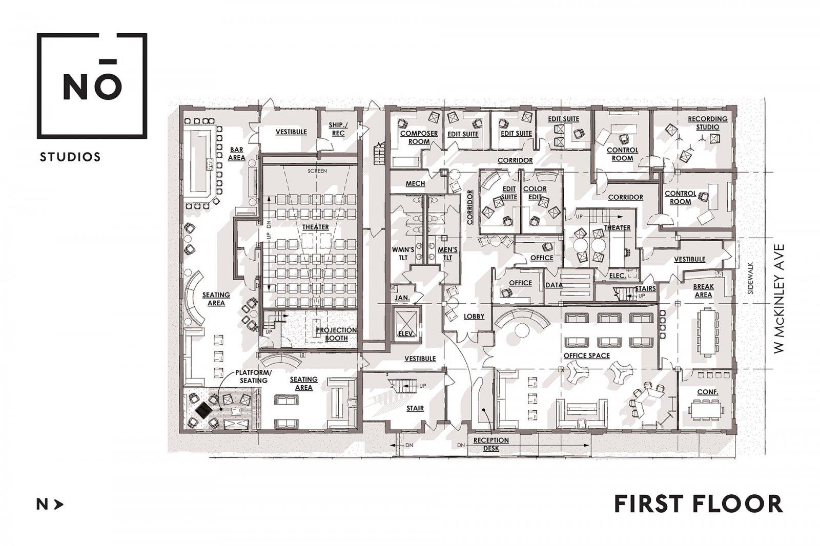 No Studios Floor Plan