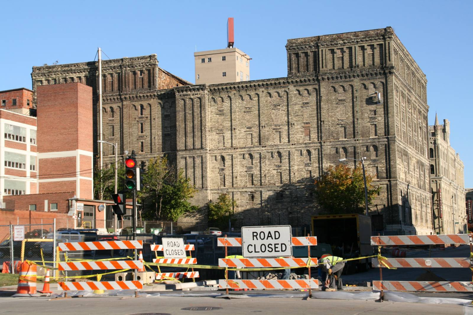 Building 24 and Building 25 at Pabst Brewery Complex