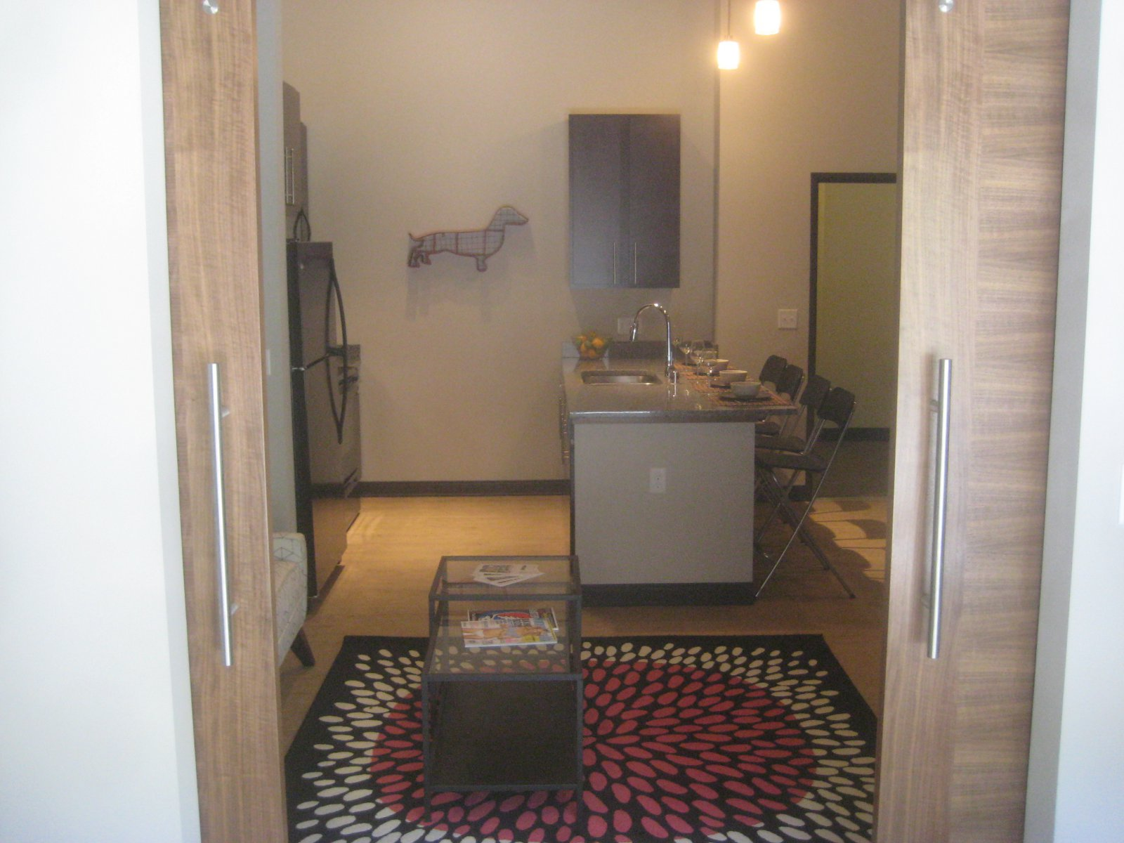 A unit in Frederick Lofts