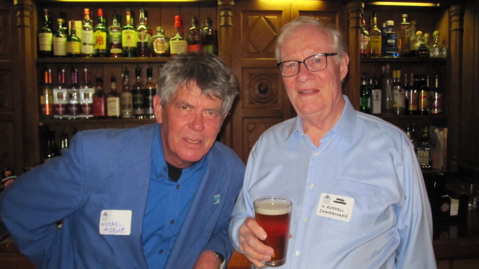 Michael Horne and H. Russell Zimmermann