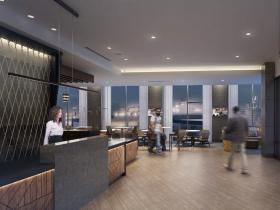 Hyatt Place Hotel Rendering