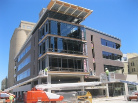 Friday Photos: Pabst Business Center Nears Completion
