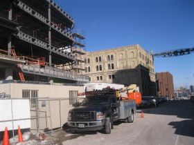 Pabst Professional Center under construction.