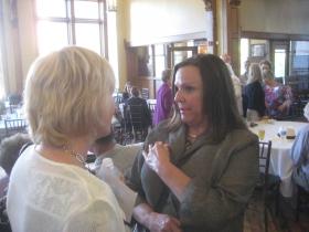Beth Weirick and Patti Keating Kahn