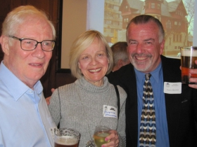 H. Russell Zimmermann, Georgianne Zimmermann and Jim Haertel