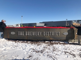The Brewery Gateway Sculpture Unveiling