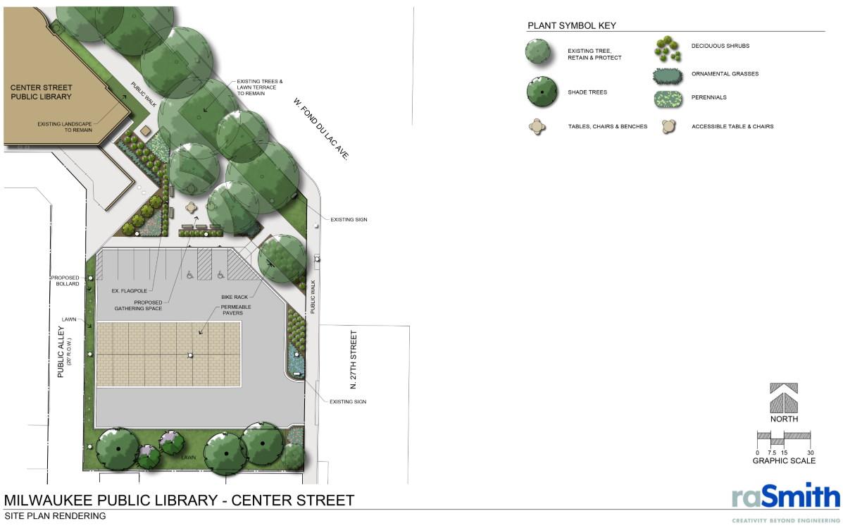 Center Street Library Improvements