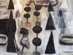 mark-mulhern-topiary-charcoal-and-pastel-on-paper-42x60-e