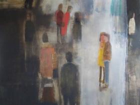Mark Mulhern, Brocante Montsoreau Drizzle. Courtesy Tory Folliard Gallery.