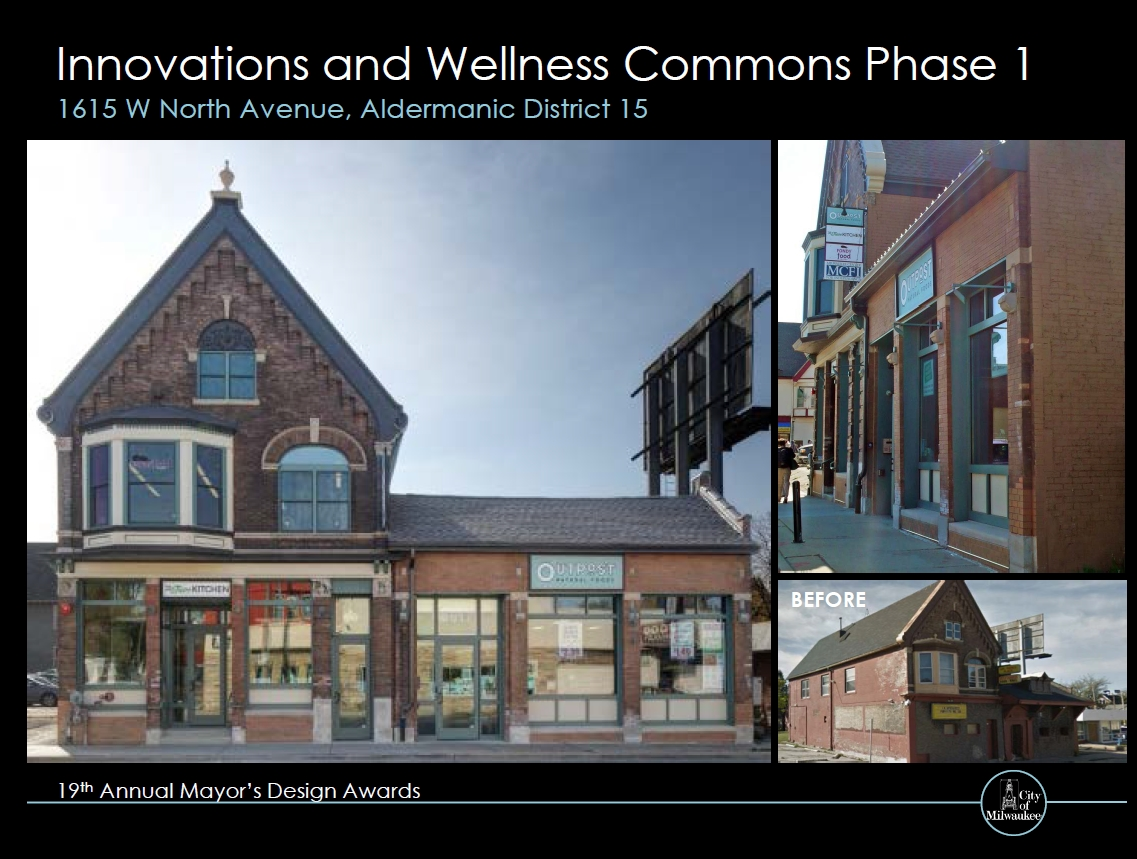 Innovations and Wellness Commons Phase 1