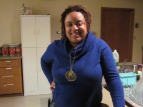 Monique Liston is a co-founder of the group All Black Everything.