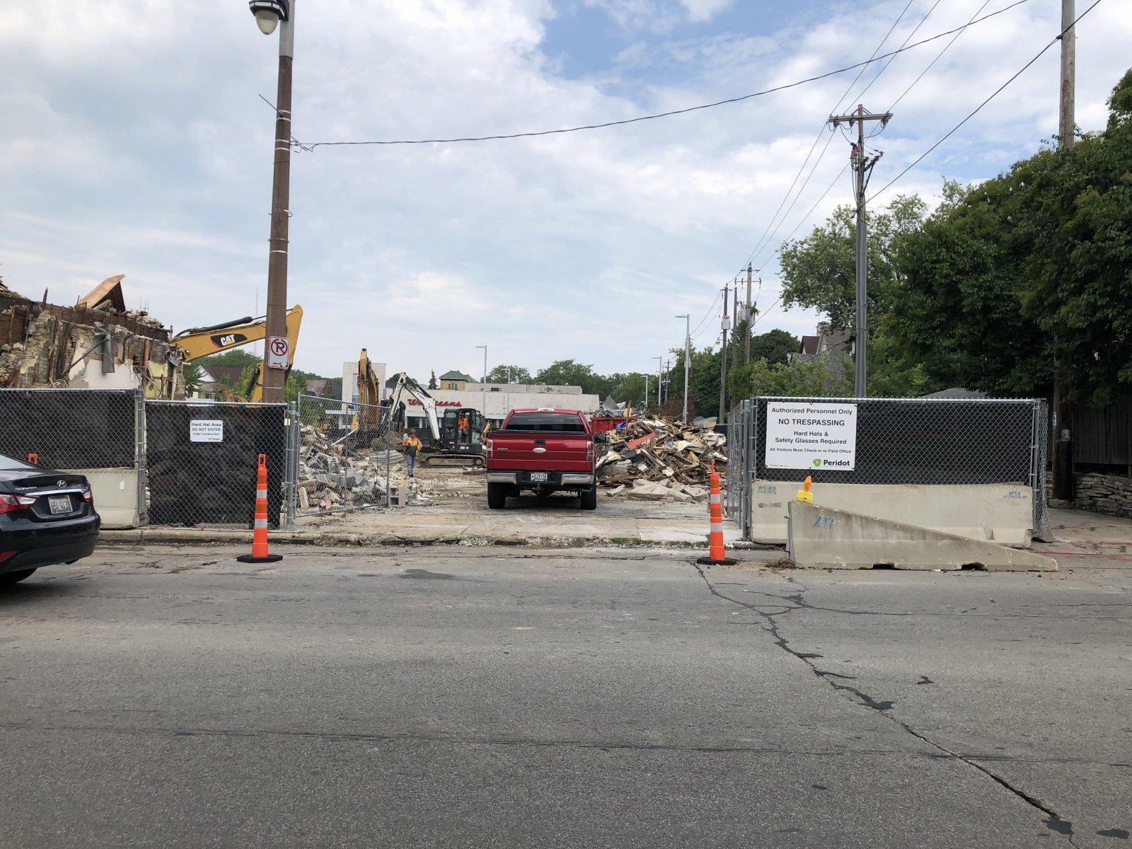 2900 N. Oakland Ave. Demolition