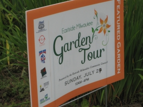 A free garden tour is certain to attract attention to a lovely neighborhood. Among the stops were tenant-maintained gardens, sure to inspire any landlord.
