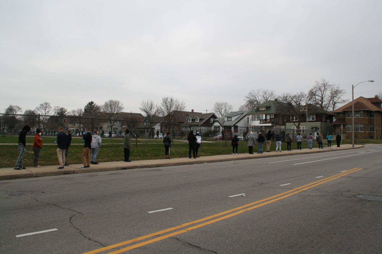 Washington High School Polling Site