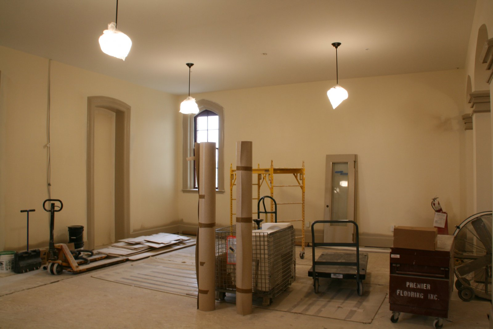Future Lounge Space at Old Main