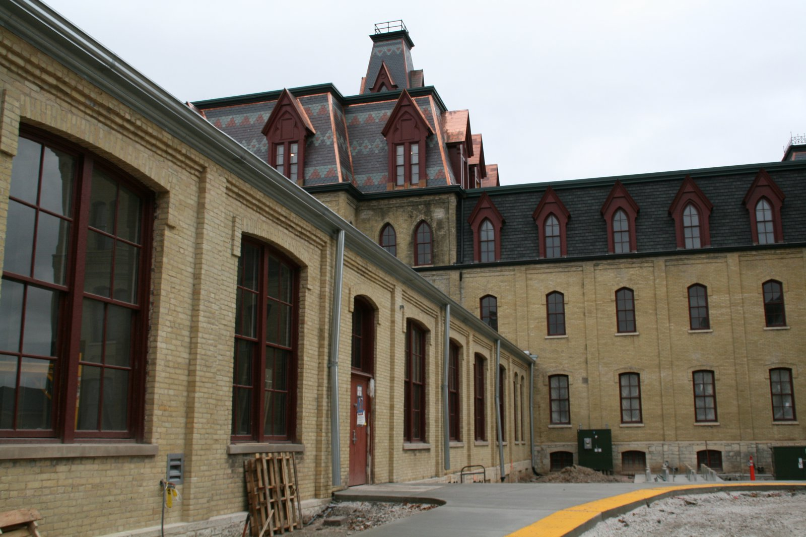 Rear of Old Main
