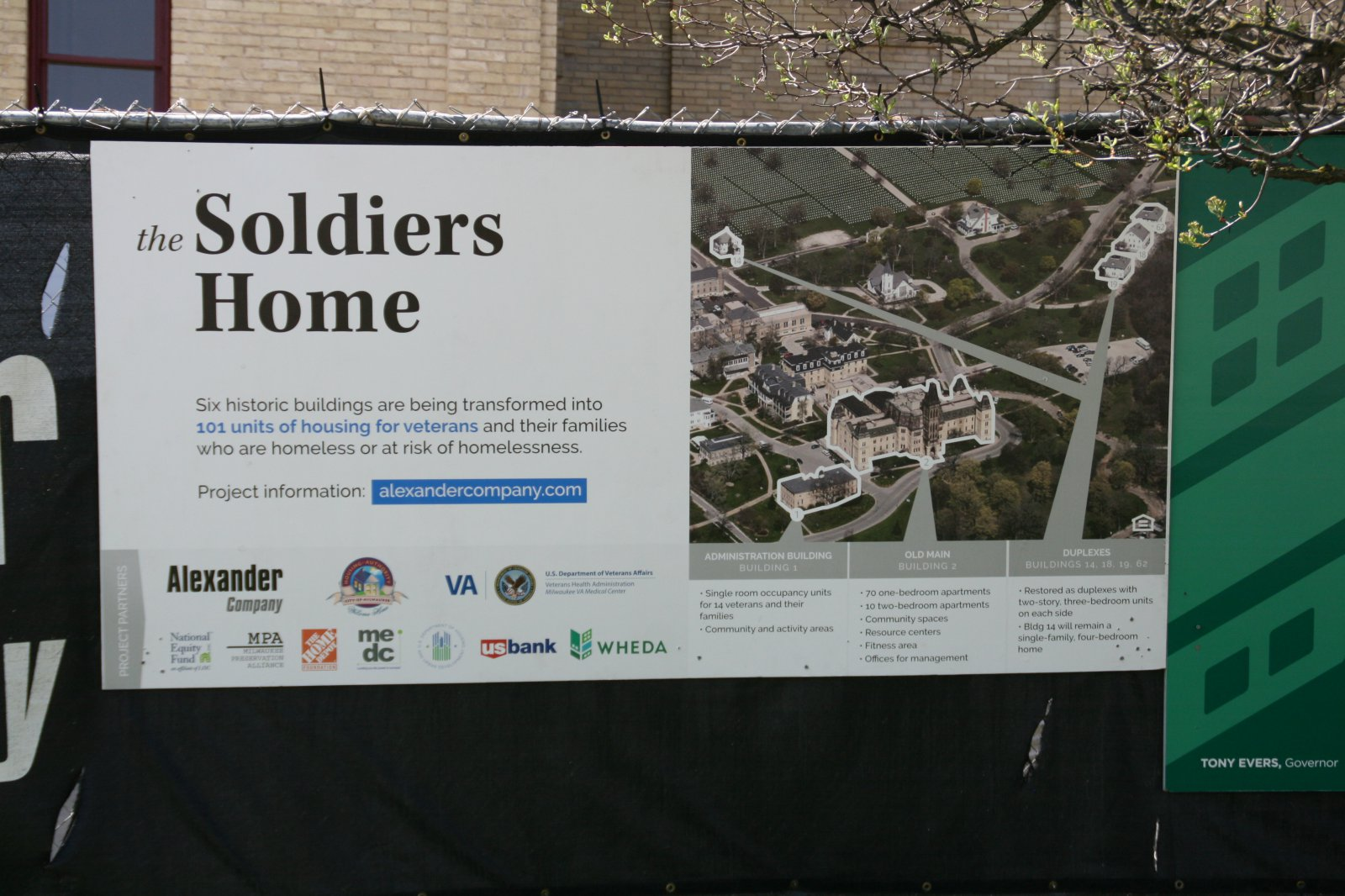 Soldiers\' Home Redevelopment Map