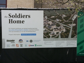 Soldiers' Home Redevelopment Map