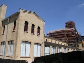 Rear of Old Main
