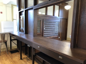 Restored Mailroom at Administration Building