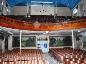 Ward Memorial Hall interior.