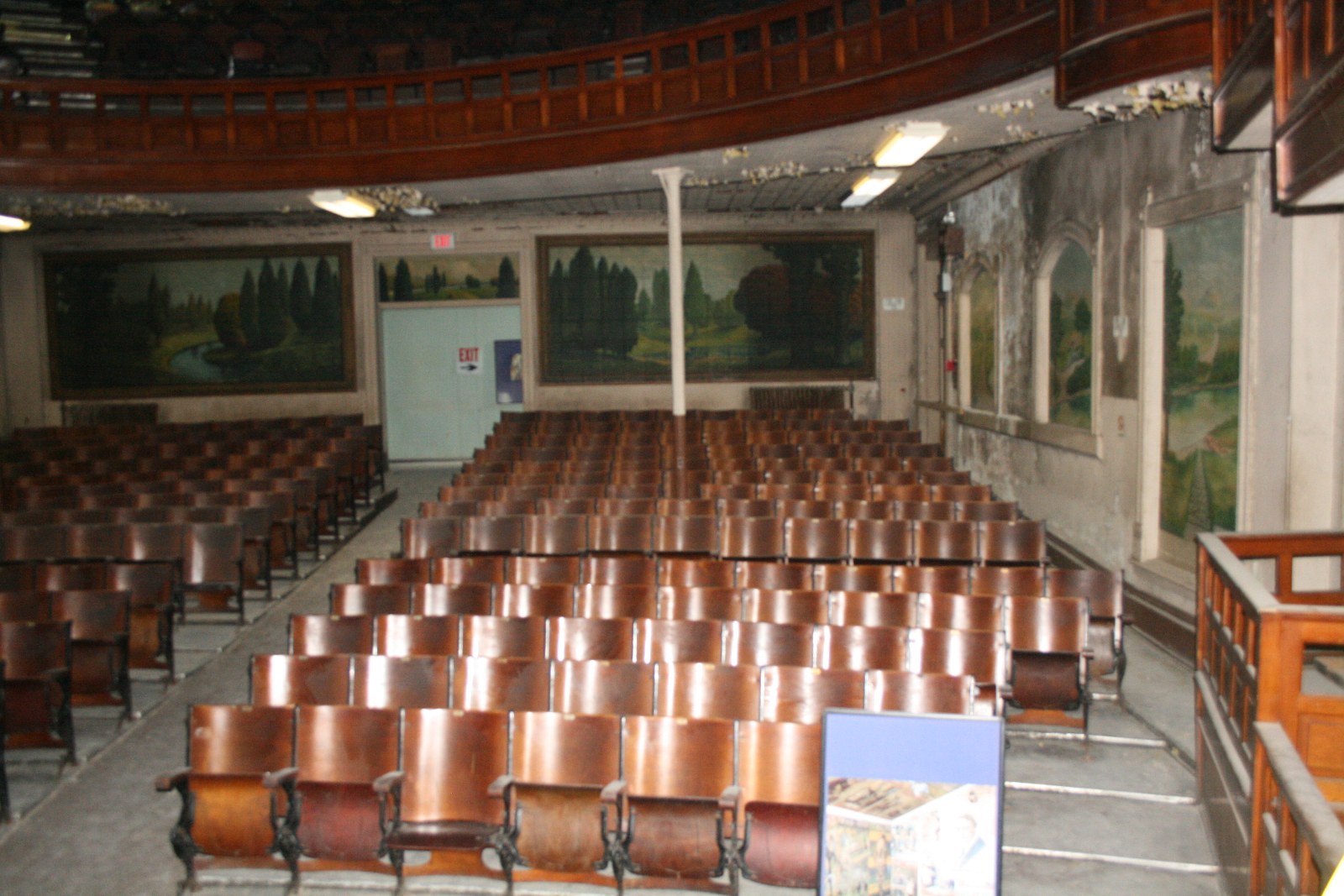 Ward Memorial Hall Interior