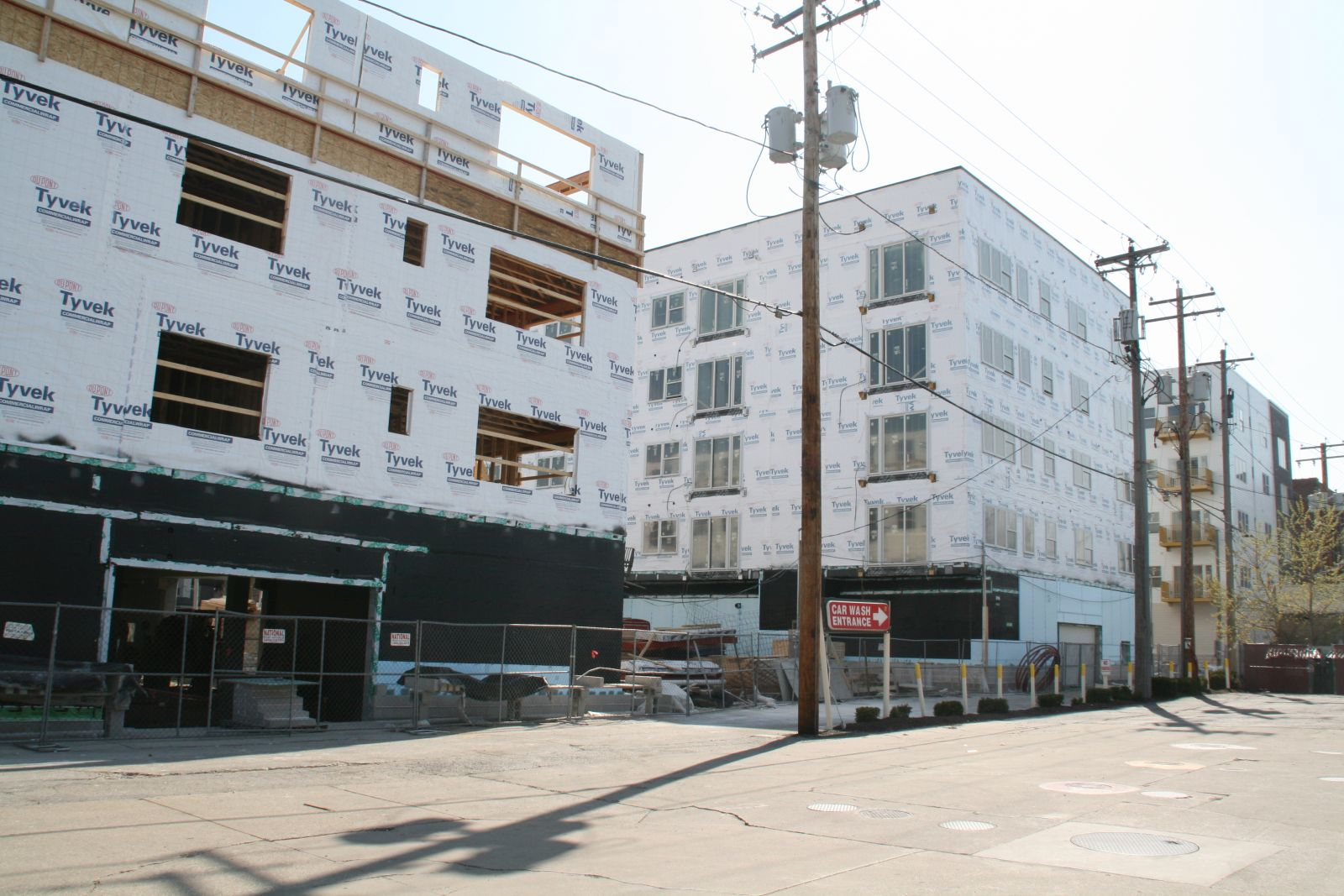 1029 S. 1st St. Construction