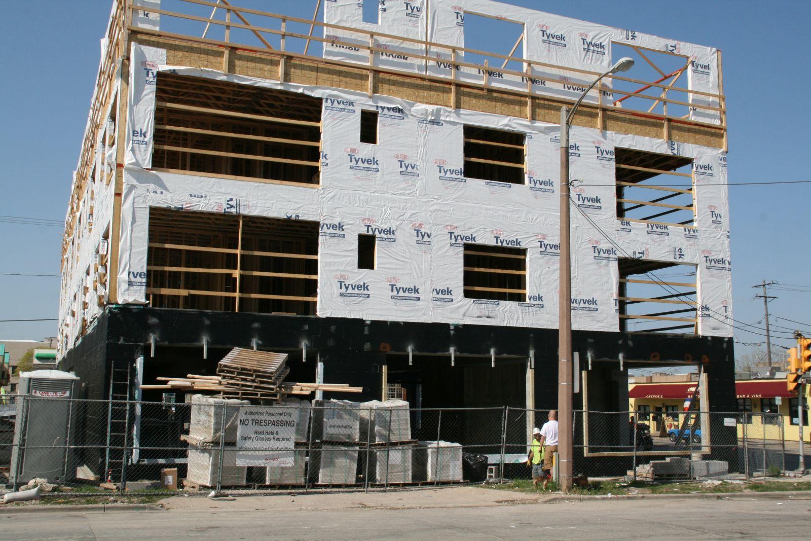 1029 S. 1st St. Construction