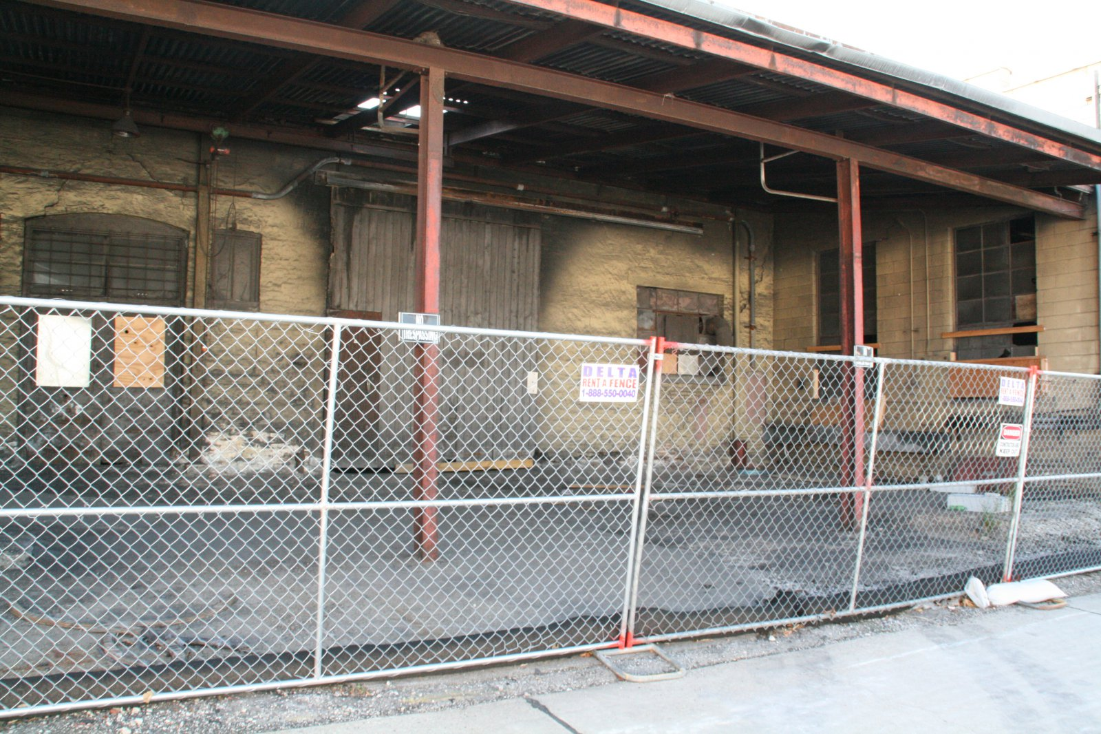 Commercial Heat Treating Demolition