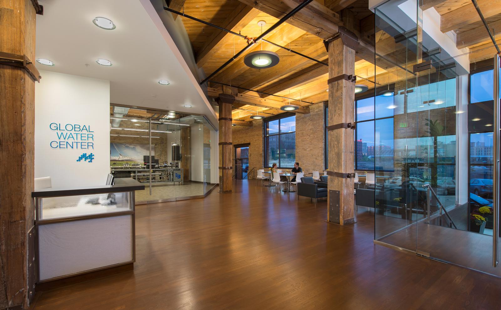 Global Water Center interior