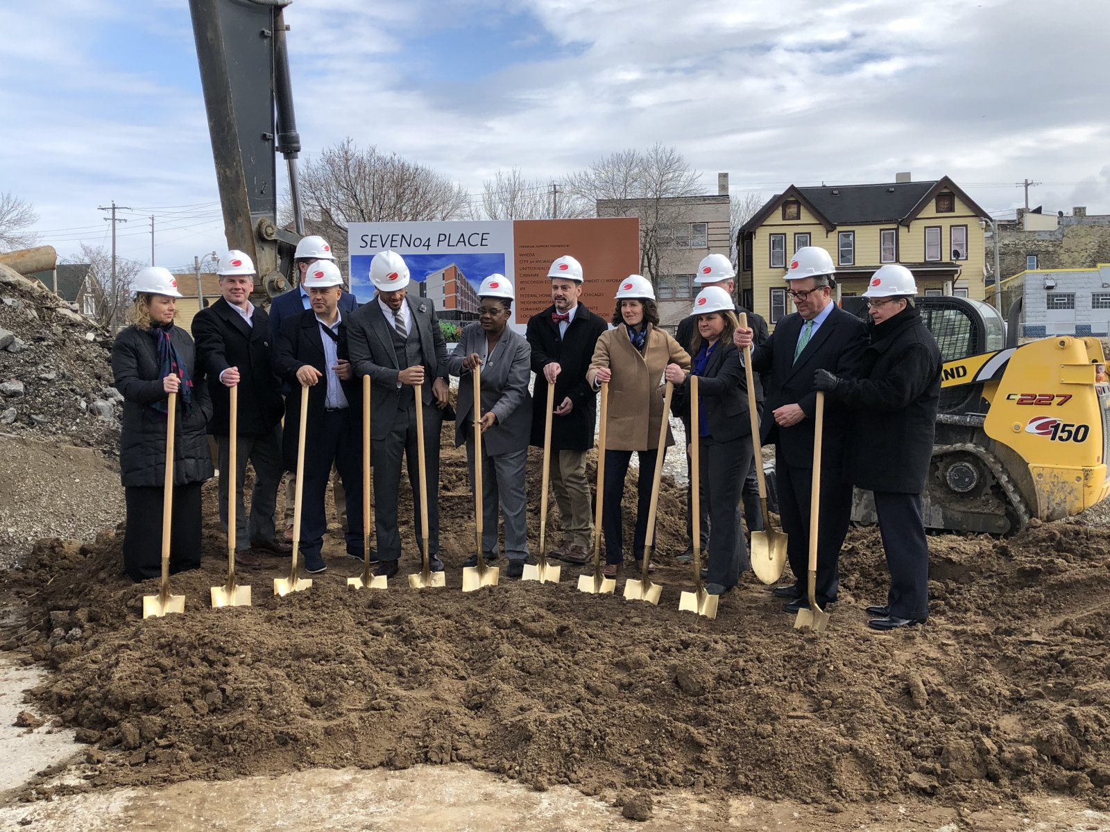 SEVEN04 Place Groundbreaking
