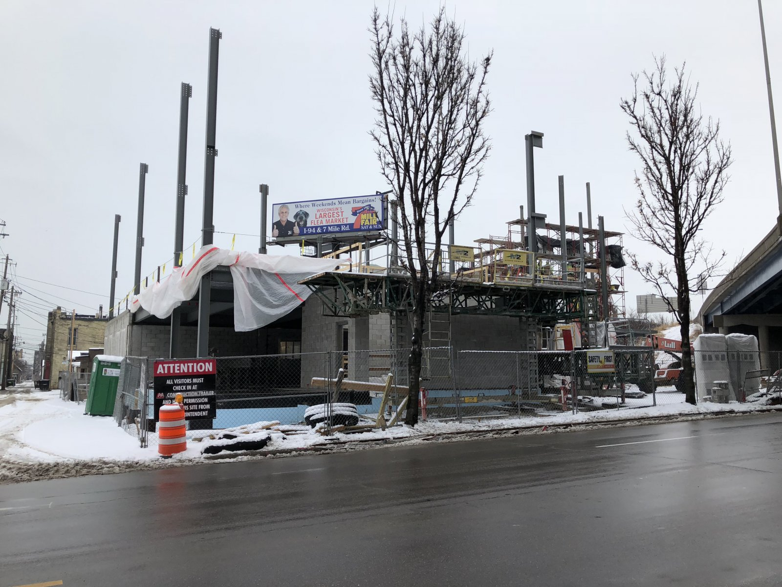 Acosta Middle School Construction