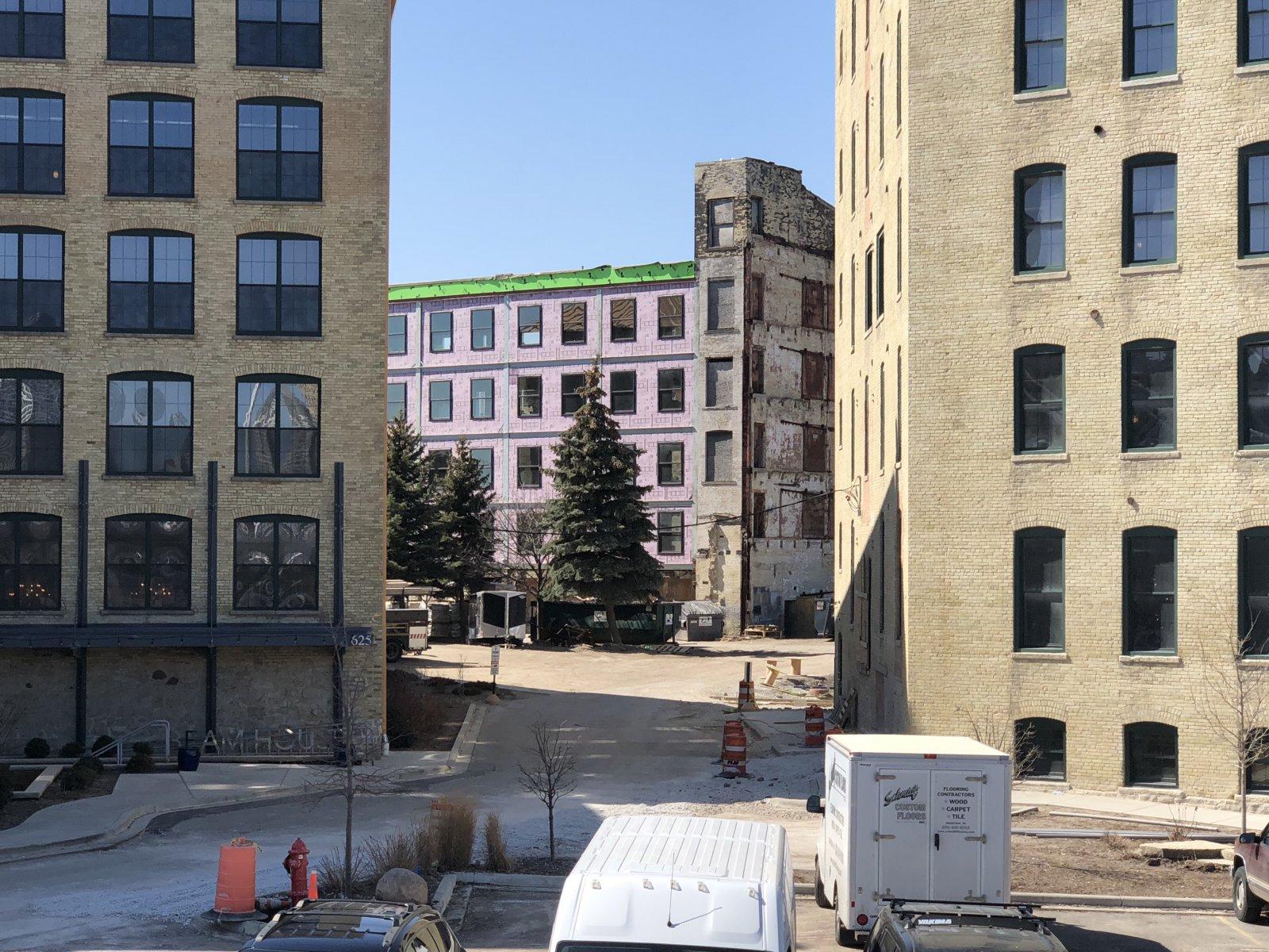 River Place Lofts Construction
