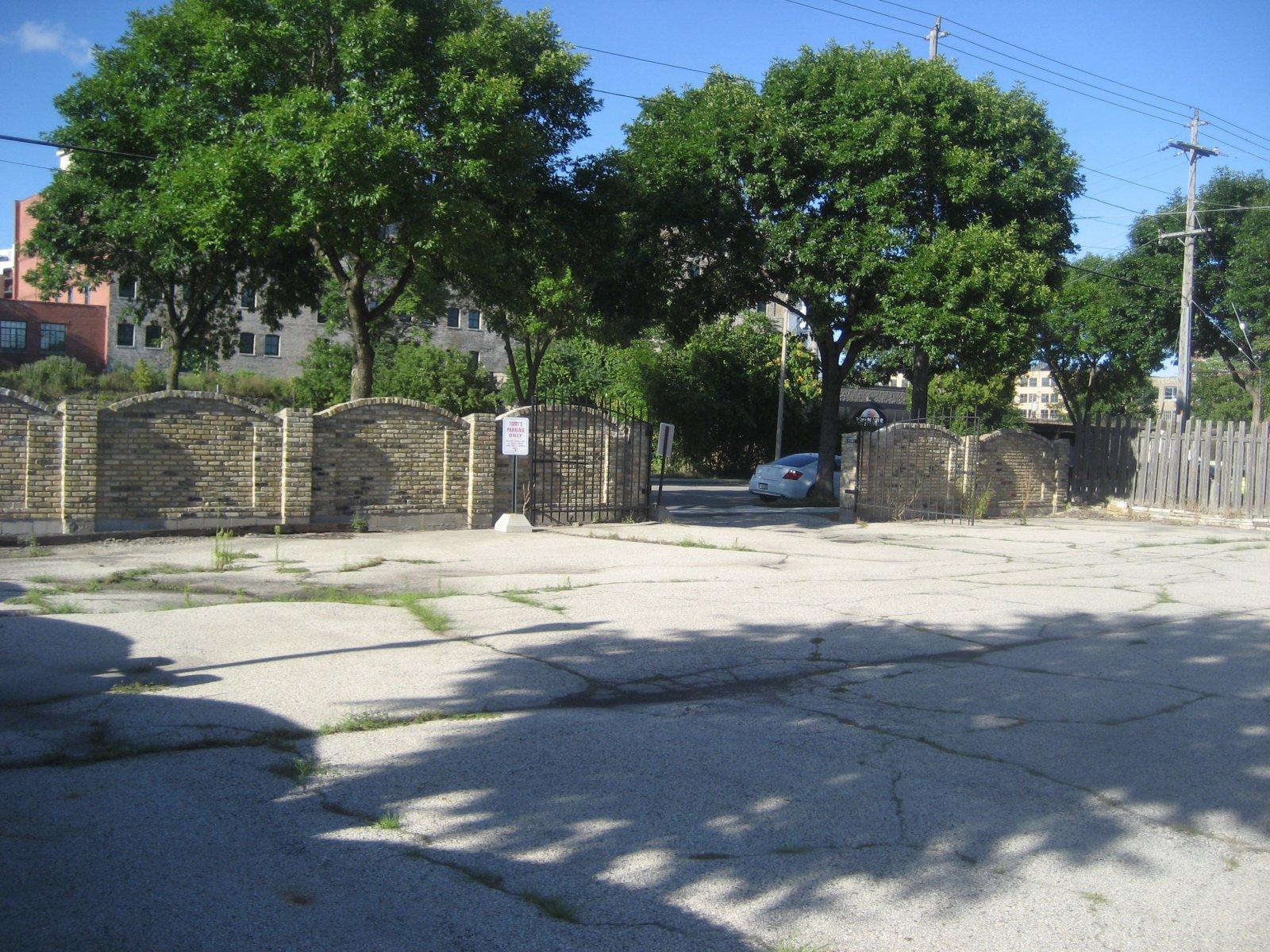 Tony\'s parking lot