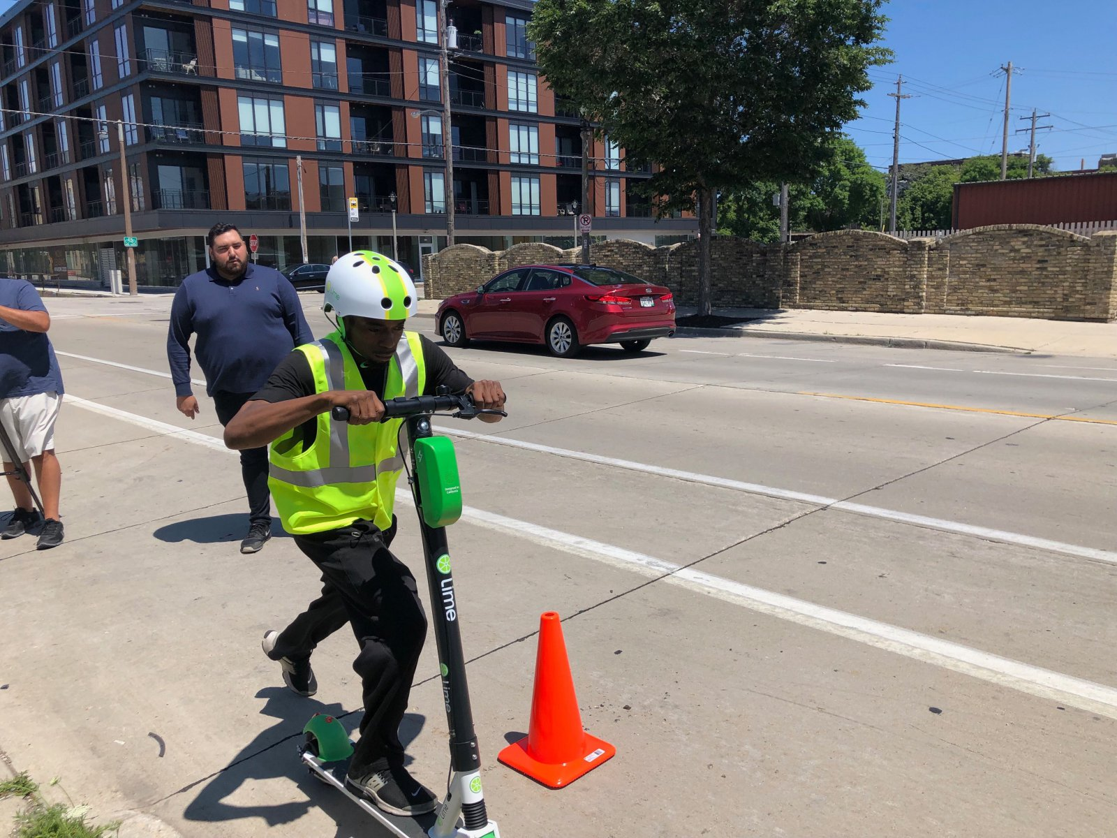 Lime Scooter Demonstration