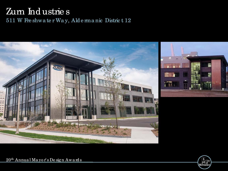 Zurn Industries, 511 W. Freshwater Way