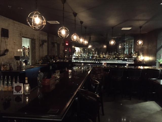The bar at Meraki