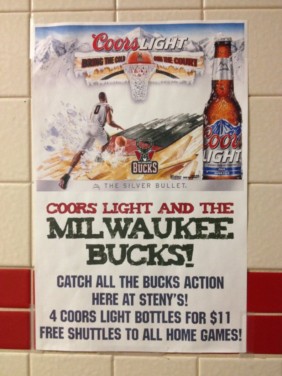 Coors Light and the Milwaukee Bucks