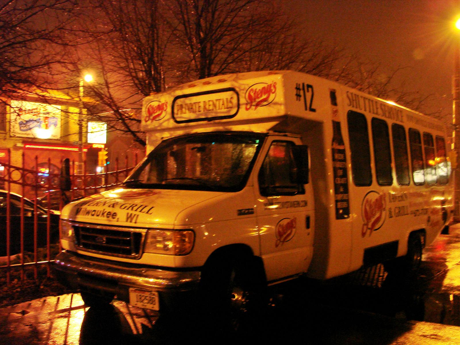 Steny\'s shuttle bus.