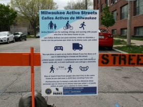 Active Streets Signage