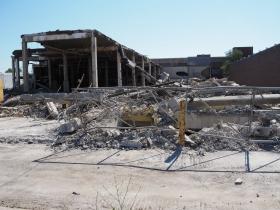 1618 S. 1st St. Demolition