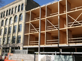 Timber Lofts Construction