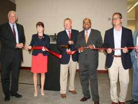 Mercantile Lofts Ribbon Cutting