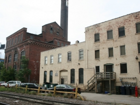 Tannery Power Plant and Remnant Buildings in 2009