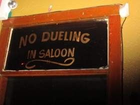 No Dueling