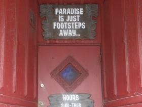 Lucky Joe's Door. Photo by Kristyn Botic.
