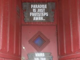 Lucky Joe's Door. Photo by Kristyn Botic.