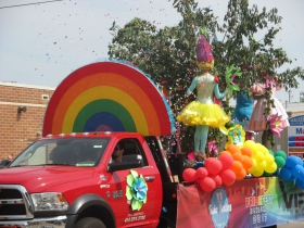 Pridefest Float